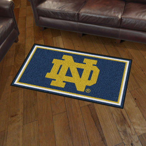 NCAA Notre Dame Fighting Irish 3 X 5 Ft. Plush Area Rug - Bed, Bath, And My Team