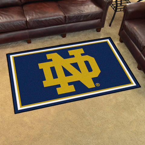 NCAA Notre Dame Fighting Irish 4 X 6 Ft. Area Rug - Bed, Bath, And My Team