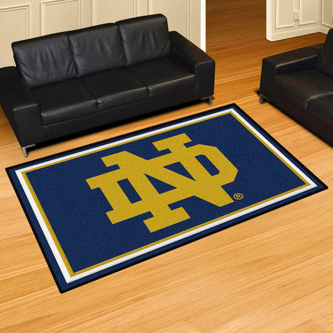 NCAA Notre Dame Fighting Irish 5 X 8 Ft. Area Rug - Bed, Bath, And My Team