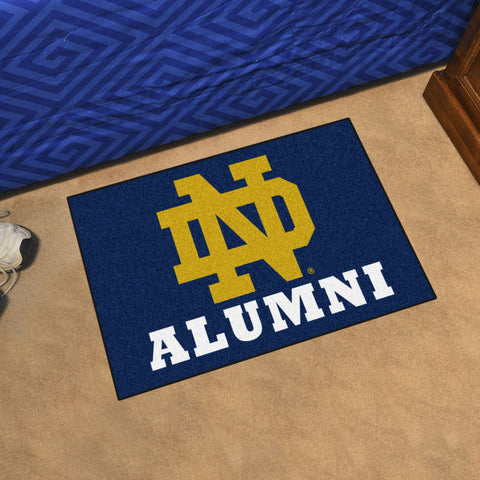 NCAA Notre Dame Fighting Irish ALUMNI Starter Rug - Bed, Bath, And My Team