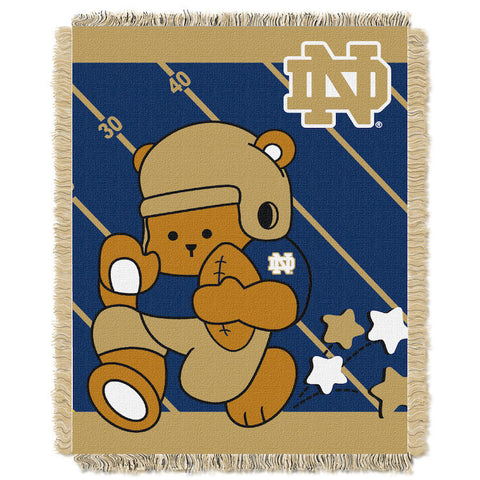 NCAA Notre Dame Fighting Irish Baby Blanket - Bed, Bath, And My Team