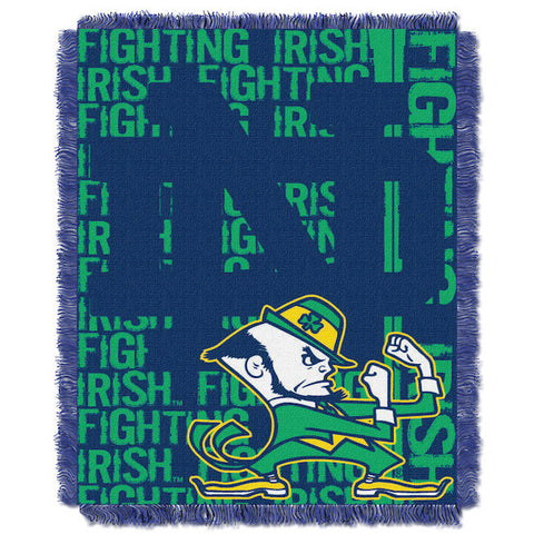 NCAA Notre Dame Fighting Irish Woven Decorative Tapestry - Bed, Bath, And My Team