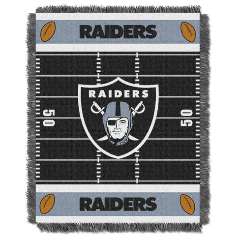 NFL Las Vegas Raiders Baby Blanket - Bed, Bath, And My Team