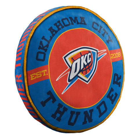 NBA Oklahoma City Thunder Cloud Travel Pillow - Bed, Bath, And My Team