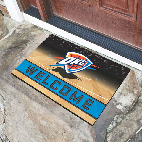 NBA Oklahoma City Thunder Recycled Rubber CRUMB Doormat - Bed, Bath, And My Team