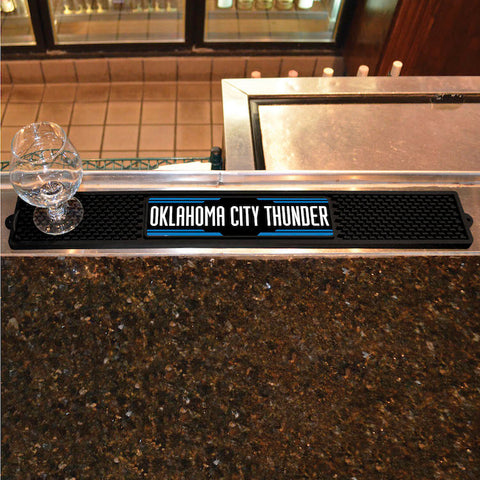 NBA Oklahoma City Thunder Bar and Drink Mat - Bed, Bath, And My Team