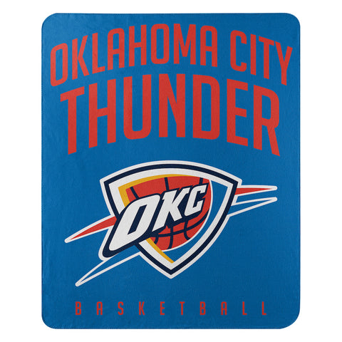 NBA Oklahoma City Thunder Fleece Throw ~ 50 x 60 - Bed, Bath, And My Team