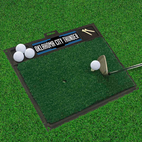 NBA Oklahoma City Thunder Golf Hitting Mat - Bed, Bath, And My Team