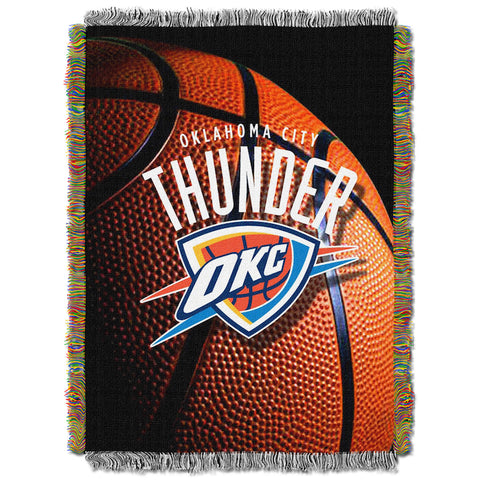 NBA Oklahoma City Thunder PHOTO REAL Tapestry - Bed, Bath, And My Team