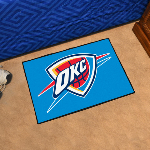 NBA Oklahoma City Thunder STARTER Rug - Bed, Bath, And My Team