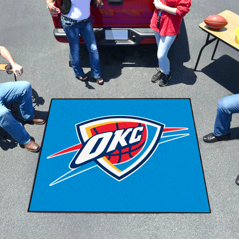 NBA Oklahoma City Thunder TAILGATER Mat - Bed, Bath, And My Team