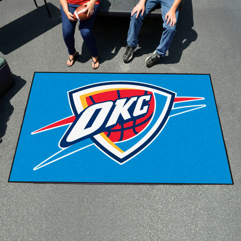 NBA Oklahoma City Thunder UTILI-MAT Area Rug - Bed, Bath, And My Team