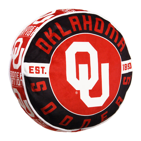 NCAA Oklahoma Sooners Cloud Travel Pillow - Bed, Bath, And My Team