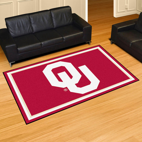 NCAA Oklahoma Sooners 5 X 8 Ft. Area Rug - Bed, Bath, And My Team