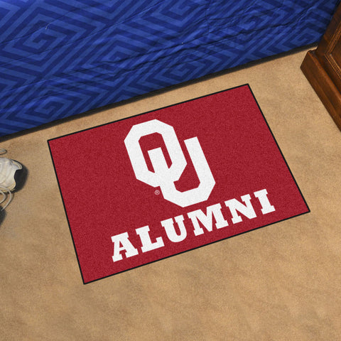 NCAA Oklahoma Sooners ALUMNI Starter Rug - Bed, Bath, And My Team