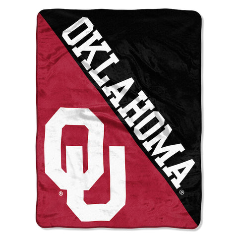 NCAA Oklahoma Sooners Micro Raschel Throw - Bed, Bath, And My Team
