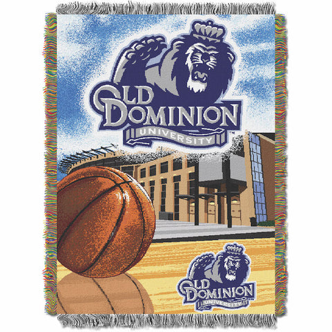 NCAA Old Dominion Monarchs HOME FIELD ADVANTAGE Tapestry - Bed, Bath, And My Team