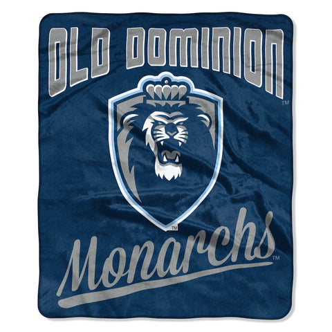 NCAA Old Dominion Monarchs 50 x 60 Alumni Raschel Throw Blanket - Bed, Bath, And My Team