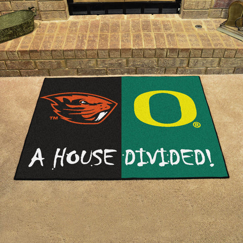 Oregon Ducks Oregon State Beavers Rivalry Rug
