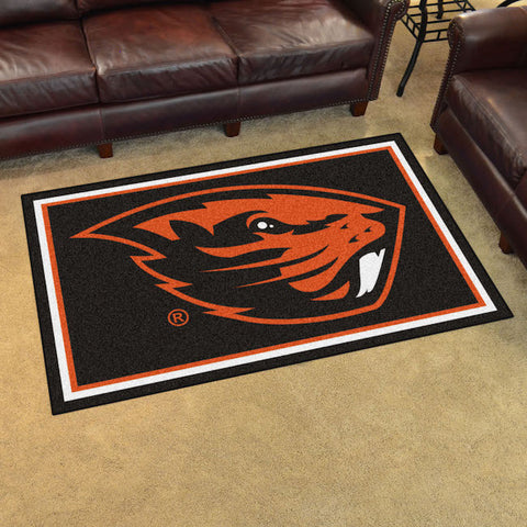 NCAA Oregon State Beavers 4 X 6 Ft. Area Rug - Bed, Bath, And My Team