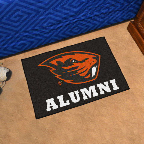 NCAA Oregon State Beavers ALUMNI Starter Rug - Bed, Bath, And My Team