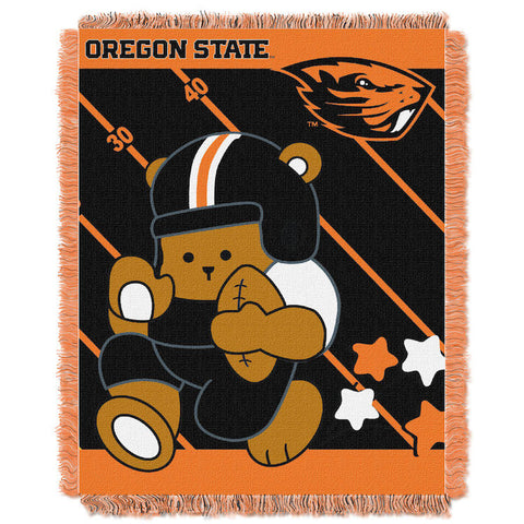 NCAA Oregon State Beavers Baby Blanket - Bed, Bath, And My Team