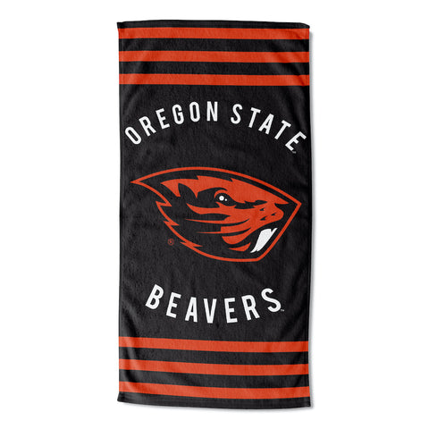 NCAA Oregon State Beavers Beach Towel - Bed, Bath, And My Team