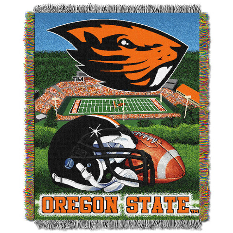 Oregon State Beavers Home Field Advantage Tapestry
