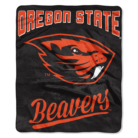 NCAA Oregon State Beavers 50 x 60 Alumni Raschel Throw Blanket - Bed, Bath, And My Team