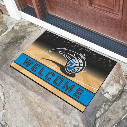 NBA Orlando Magic Recycled Rubber CRUMB Doormat - Bed, Bath, And My Team