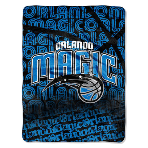 NBA Orlando Magic Micro Raschel Throw - Bed, Bath, And My Team