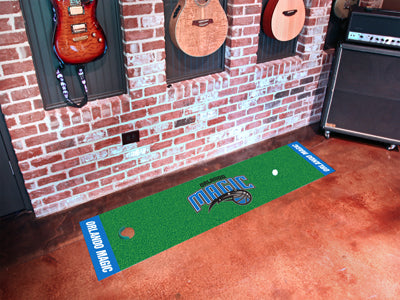 NBA Orlando Magic Putting Green Mat - Bed, Bath, And My Team