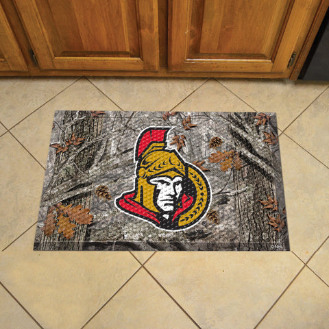 NHL Ottawa Senators Scraper CAMO Doormat - Bed, Bath, And My Team