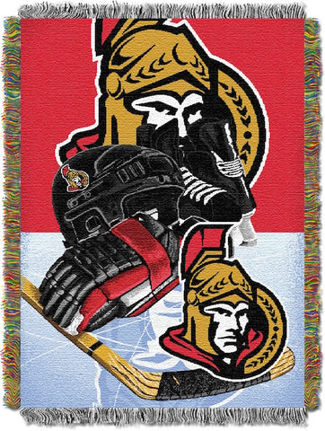 NHL Ottawa Senators HOME ICE ADVANTAGE Tapestry - Bed, Bath, And My Team