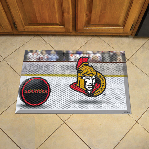 NHL Ottawa Senators Scraper Doormat - Bed, Bath, And My Team