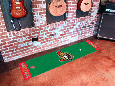NHL Ottawa Senators Putting Green Mat - Bed, Bath, And My Team