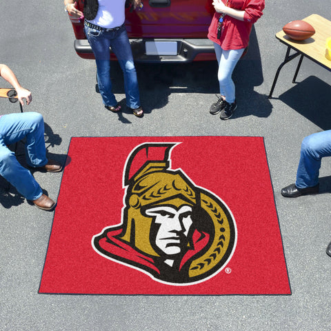 NHL Ottawa Senators TAILGATER Mat - Bed, Bath, And My Team