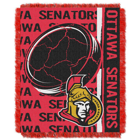 NHL Ottawa Senators Woven Decorative Tapestry - Bed, Bath, And My Team