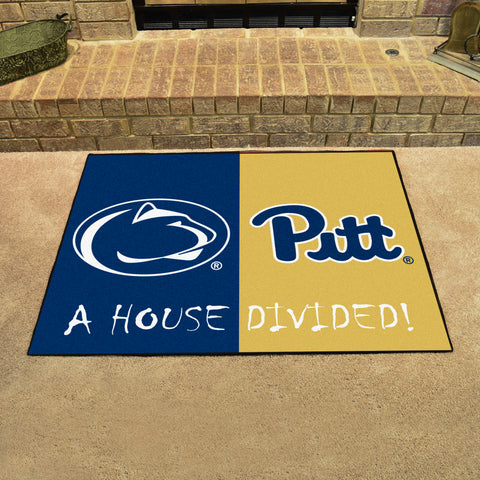 Penn State Nittany Lions Pittsburgh Panthers Rivalry Rug