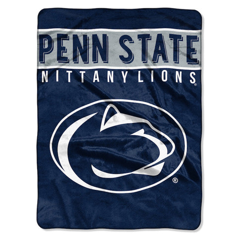 Penn State Nittany Lions large plush blanket