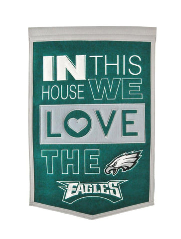 Philadelphia Eagles Home Banner