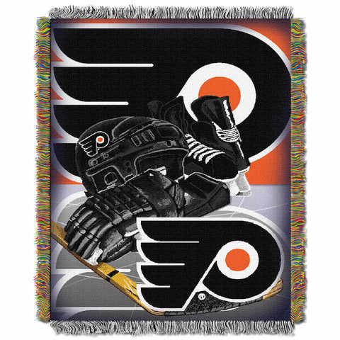 NHL Philadelphia Flyers HOME ICE ADVANTAGE Tapestry - Bed, Bath, And My Team