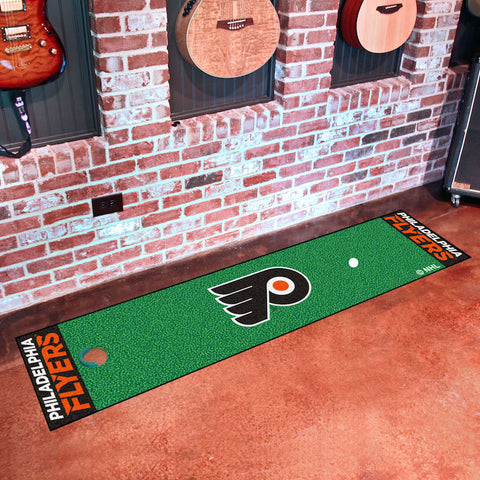 NHL Philadelphia Flyers Putting Green Mat - Bed, Bath, And My Team