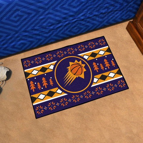 NBA Phoenix Suns CHRISTMAS SWEATER Starter Rug - Bed, Bath, And My Team