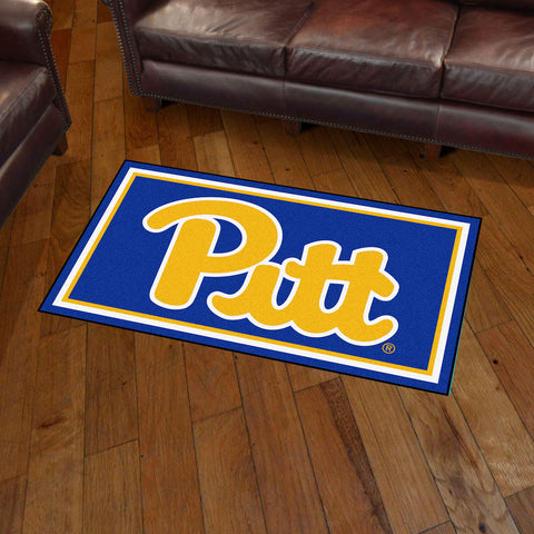 Pittsburgh Panthers 3 x 5 area rug