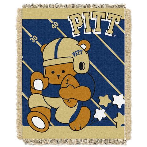Pittsburgh Panthers Baby Blanket