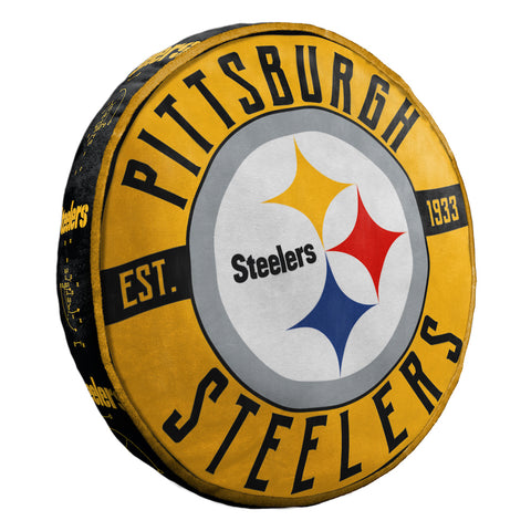 NFL Pittsburgh Steelers Cloud Travel Pillow - Bed, Bath, And My Team