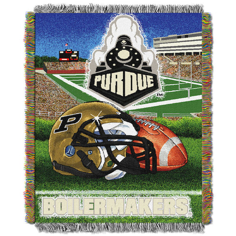 Purdue Boilermakers Home Field Advantage Tapestry