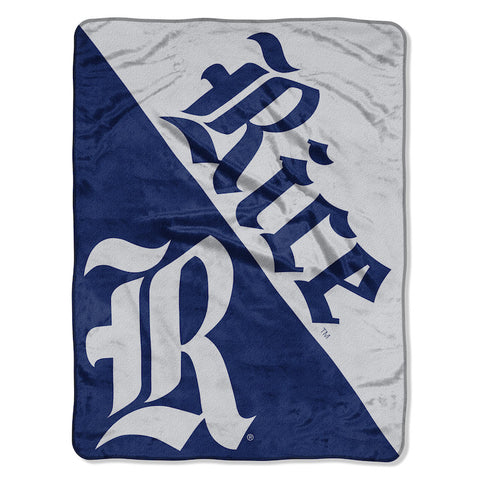 NCAA Rice Owls Micro Raschel Throw - Bed, Bath, And My Team