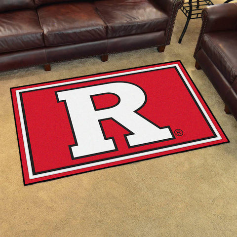 Rutgers Scarlet Knights 4 x 6 area rug